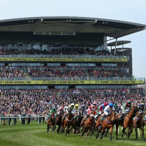 A picture of the Aintree Grand National