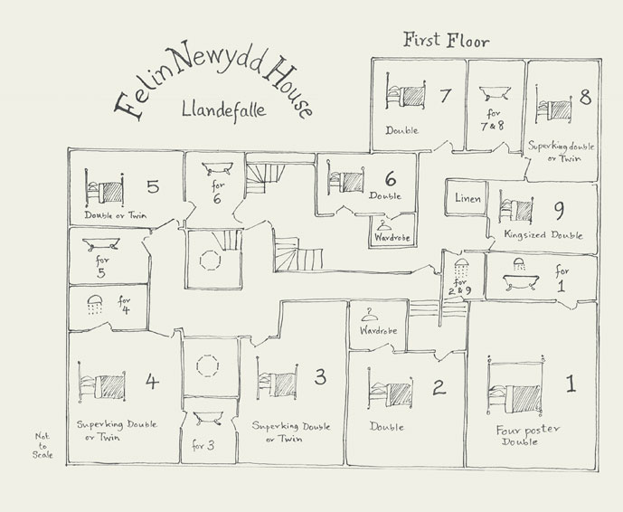 Floorplans Countrypad Luxury Self Catering Or Catered