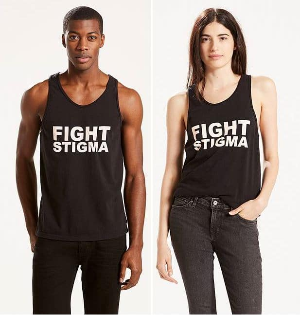 levi's Fight stigma design