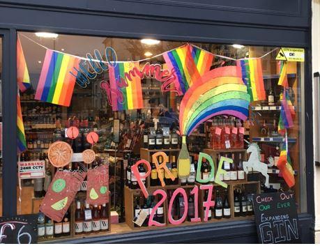 Brighton Pride design shop